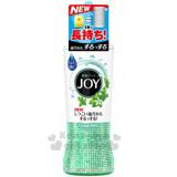 〔小禮堂〕P&G寶僑 JOY 日製濃縮洗碗精 《S.綠.透明.190ml》薄荷香味