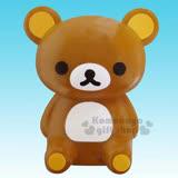 〔小禮堂〕拉拉熊 懶懶熊 汽車芳香劑《棕.坐姿.白麝香》輕鬆打造愛車舒適空間
