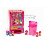 〔小禮堂嬰幼館〕KITTY 自動販賣機玩具《粉.造型按鈕.泡殼裝》適合3歲以上孩童