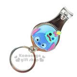 〔小禮堂〕迪士尼 Tsum Tsum 史迪奇 指甲剪《小.藍.醜丫頭.附鑰匙圈》方便隨身攜帶