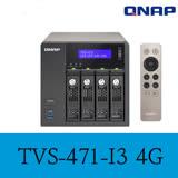 QNAP 威聯通 TVS-471-i3-4G 4Bay NAS