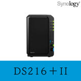 Synology群暉科技 DS216+II 2Bay NAS網路儲存伺服器