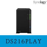 Synology 群暉科技 DS216play 2Bay NAS 網路儲存伺服器