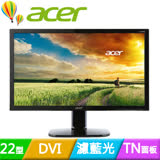acer KA220HQ 22型雙介面護眼低藍光液晶螢幕