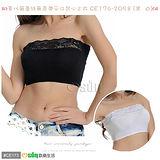 【Osun】莫代爾蕾絲無肩帶平口背心上衣 CE176-2058
