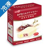 明治北海道紅豆雪糕100G*4支/