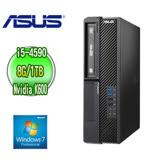 ASUS 華碩 H81 商用電腦 (Core i5-4590 8G 1TB DVD-RW Nvidia Quadro K600 Win7專業版 三年保固)