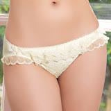 【easybody】芭蕾小公主 低腰三角褲(象牙白)
