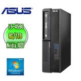 ASUS 華碩 H81 商用電腦 (Core i5-4590 8G 1TB DVD-RW Nvidia Quadro K620 Win7專業版 三年保固)