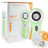 (盒損良品)Clarisonic 科萊麗 超音波洗臉機 Mia2 淺綠色 Baby Green(加碼送敏感刷頭*1+冰河保濕潔面乳150ML)