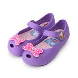 (中小童) DISNEY 蘇菲亞魚口娃娃鞋 紫 童鞋 鞋全家福