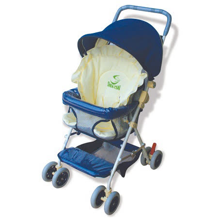 【優生】全罩式輕便推車ST-3721A(藍色款)兒童安全推車/幼兒推車-買就送優生嬰兒車用蚊帳 -friDay購物 x GoHappy