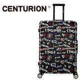 【CENTURION】美國百夫長22吋行李箱-潮牌STAGE聯名款(拉鍊箱/空姐箱)