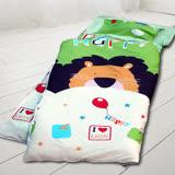 HO KANG 100%純棉兒童睡袋 鋪棉涼被兩用 加大款-童話王國