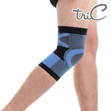 【Tric】台灣製造 專業運動護具-護膝 藍色(1雙)