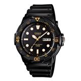 CASIO 卡西歐 學生最愛潛水風格腕錶 MRW-200H-1EVDF
