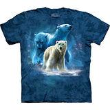 『摩達客』美國進口【The Mountain】自然純棉系列 北極熊群設計T恤 (預購)