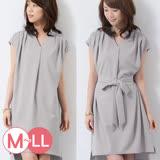 日本ANNA LUNA 預購-折縫造型2WAY洋裝(共三色/M-LL)