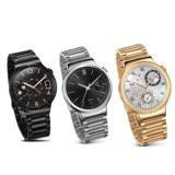 【拆封新品】HUAWEI 華為 Watch W1智慧手錶(不鏽鋼錶帶) 贈9H鋼化保貼 黑色