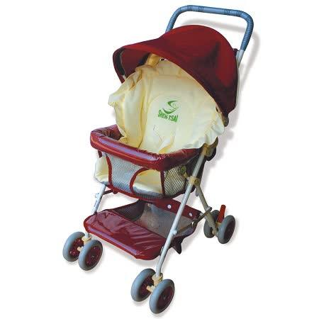 【優生】全罩式輕便推車ST-3721A(紅色款)兒童安全推車/幼兒推車-買就送優生嬰兒車用蚊帳 -friDay購物 x GoHappy