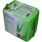 美麗人生複方植物精華衛生棉 日用型24.5cm 20片/包◆德瑞健康家◆