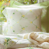 Tonia Nicole 東妮寢飾 弗羅倫絲環保印染100%天絲靠墊抱枕套(65*65cm)