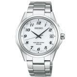 SEIKO 精工 SPIRIT 萬年曆太陽能不鏽鋼電波腕錶 /38mm/7B24-0BN0S(SBTM237J)