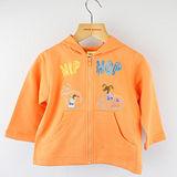 【愛的世界】MYBABY 歡唱時光系列純棉連帽拉鍊外套/1歲-台灣製-