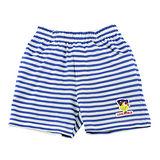 【愛的世界】MYBABY 快樂的朋友系列海軍風橫紋短褲/6~8歲-台灣製-