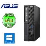 ASUS 華碩 H81 商用電腦 (Intel Core i5-4590 4G 1TB DVD-RW Win10專業版 三年保固)