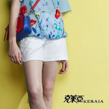 【克萊亞KERAIA】精緻棉口袋設計短褲