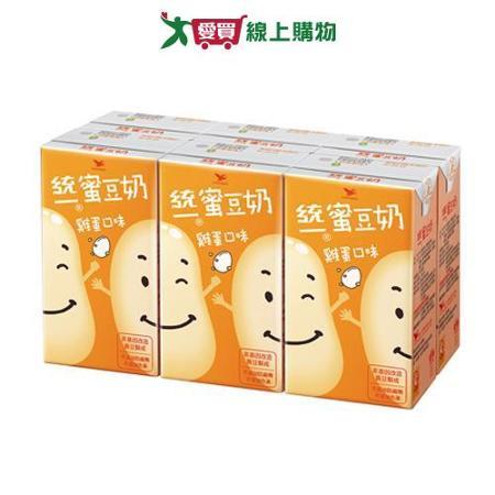 統一蜜豆奶雞蛋250ml*6