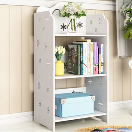 【ABOSS】白色簡約1.3尺書櫃-DIY -friDay購物 x GoHappy