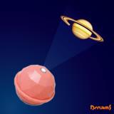 Dreams Projector Dome 銀河系投影球-土星