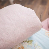 BBL 月橘100%精梳棉.印花單人涼被