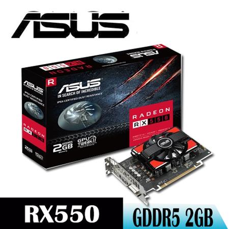 【ASUS華碩】ASUS RX550-2G 顯示卡