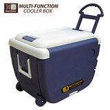 妙管家 一桌二椅拖輪冷藏箱30公升HKC-30L