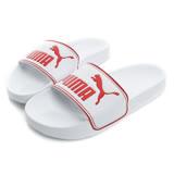 PUMA 女鞋 拖鞋 白紅 LEADCAT - 36026305