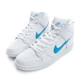 NIKE 男鞋 滑板鞋 藍白 NIKE SB DUNK HIGH TRD QS - 881758141