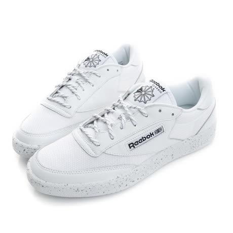 Reebok 男鞋 休閒鞋 白 CLUB C 85 ST - BD1563-friDay購物 x GoHappy