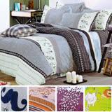(任選1套) 飾家頂級加大活性絲柔棉四件式兩用被床罩組台灣製