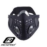 英國 RESPRO SPORTSTA 運動款高透氣防護口罩(黑色)