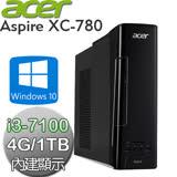 acer宏碁 Aspire XC-780【雙核】Intel i3-7100 雙核心 Win10電腦 (AXC-780 CI3-7100)