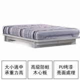【ABOSS】5尺白色雙人床架