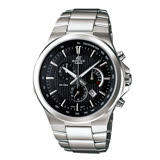 CASIO 卡西歐 EDIFICE 直條紋錶面都會素雅男錶 EFR-500D-1A