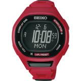 SEIKO PROSPEX Runner 運動玩家電子手錶-紅/47mm S611-00A0R