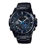 CASIO 卡西歐 EDIFICE 雙顯世界時間不鏽鋼錶帶男錶 ERA-200DC-1A2