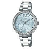CASIO 卡西歐 SHEEN 晶鑽款時尚不鏽鋼女錶 SHE-3042D-2A