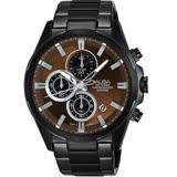 【ALBA】三眼潮流時尚運動計時腕錶(酷炫黑/VD57-X081U)