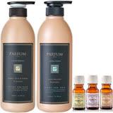 Parfum 巴黎帕芬 摩洛哥名牌香水洗髮精600mlX2(水梨花蕾、英國梨與小蒼蘭 多款可選)+贈香水護髮油10mlX2